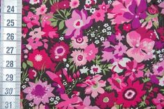Tissu Liberty Manuela rose Liberty of London, Vente de Liberty of London - Couture & Cie