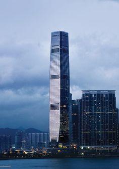 """""""International Commerce Centre"""" Hong Kong, China"""