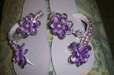 chinelos-decorados roxo
