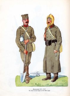 Serbian Soldiers in the Great War