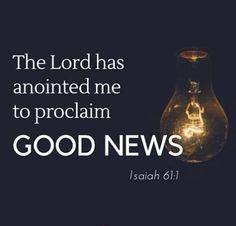 Good News (Gospel) : The Ministry of the Holy Spirit
