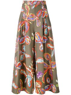 PETER PILOTTO Floral Palazzo Trousers. #peterpilotto #cloth #trousers