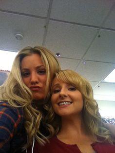 Penny and Bernadette