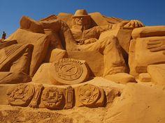 Michael Jackson Sand sculpture, Norway 2013 #MJAPWNN #DENoName