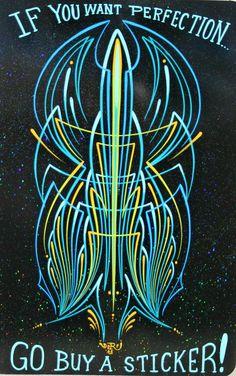 Hand-Painted Pinstripe design