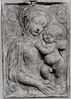 Szépművészeti Múzeum - Virgin and Child - Benedetto da Maiano after /15th century