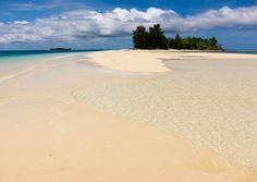 My dream holiday!    Sand & water.. Tobelo Island, North Maluku, Indonesia