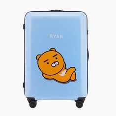 Kakao Friends Ryan Travel Luggage 27 inch ABS Trolley Spinner Carry On Suitcase #KakaoFriends