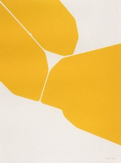 Pablo Palazuelo and this amazing yellow is making my day.
