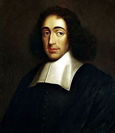 Spinoza is geboren op 24 november 1632 in Amsterdam. Hij was de grootste filosoof die Nederland gekend heeft. Spinoza was zo bekend omdat hij uit ging van de rationele uitgangspunten. Hij leefde in de wetenschappelijke revolutie. Volgens hem is de Bijbel niet door God maar door de mens geschreven. Hij vond dat de mens ook geen vrije wil heeft. Hij werd populair doordat zijn boeken goed verkochten en hij maakte Nederland een stuk rijker.