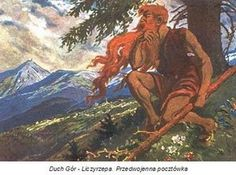 Liczyrzepa (Ger. Rübezahl, Czech Republic. Krakonoš, Krkonoše) - fantastic character, the hero of many legends associated with the area of the Giant Mountains.