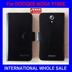 DOOGEE NOVA Y100X Case Phone High Quality Factory Price Flip Leather Exclusive Cover For DOOGEE NOVA Y100X Case tracking number