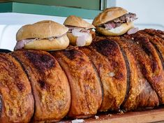 The Best Street Food in Italy - Porchetta is arguably the most widespread street food throughout central Italy; you'll find white-painted trucks slinging it all throughout Umbria, Tuscany, Lazio, and Abruzzo