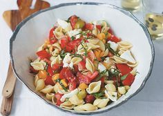 Cook up The Pollan Family Table's Caprese Pasta for #MeatlessMonday!