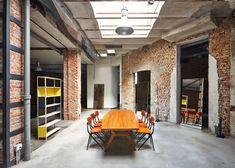 MSGM fashion office in a converted workshop by Fabio Ferrillo