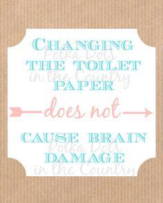 Bathroom Printable Grey Herringbone Changing The Toilet