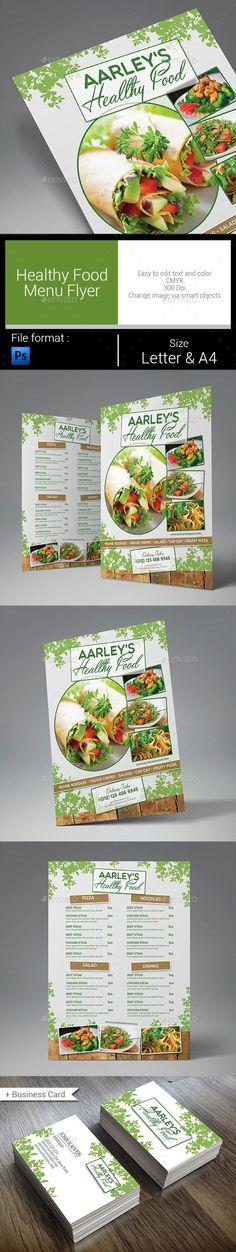Food Menu Flyer Menu, Food menu and Template - menu flyer template