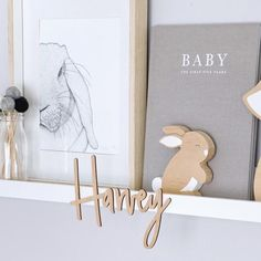 Personalise your child's bedroom, nursery or playroom with our popular Nest Accessories NamePlaque in Wood. Available in 3 sizes and a range of fonts and materials to suit any decor. PRODUCT DETAILS•Laser cut from FSC Certified Bamboo• Choose from a range of half dipped paint colours or leave natural/raw• We recommen