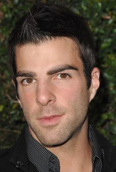 like him in Heroes and Star Trek . look at those brows! Beautiful Boys, Gorgeous Men, Beautiful People, Hero Tv, Nos4a2, Star Trek Cast, Spike Tv, Zachary Quinto, Hollywood Men