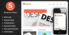 Deals Sapientia Wordpress ThemeYes I can say you are on right site we just collected best shopping store that have