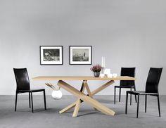 For My Future New Home #kitchen #design #wow #table #wood #natural #l'estro #Lestrocasa