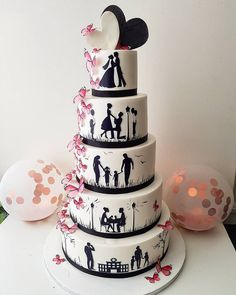 7 Wedding Cakes That Are Perfect For A Winter Fairytale Wedding Disney Themed Cakes, Cake Works, Snowflake Wedding, Crystal Cake, Dark Chocolate Cakes, Engagement Cakes, Cake Trends, Wedding Cake Designs, Fancy Cakes