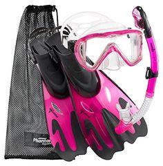 Phantom Aquatics Legendary Mask Fin Snorkel Set with Mesh Bag Snorkel Set, Cool Toys For Girls, Cute Outfits For Kids, Snorkeling Fins, Fashion Illustration Dresses, Cute Girl Wallpaper, Swim Shop, Funny Animal Videos, Scubas