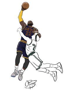 Sickkkkkkk!!! LBJ....GOAT.. Unlimited highlight package for last 14 years in NBA.