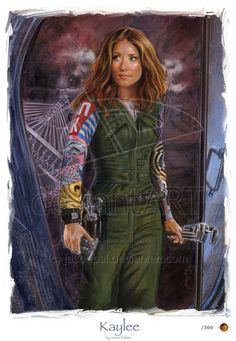 """Kaylee Serenity: the ship's mechanic. She has no formal training, but keeps Serenity running with an intuitive gift for the workings of mechanical equipment.  Kaylee's character is being wholesome, sweet, and """"completely genuine in that sweetness.""""  She has a crush on Dr. Simon Tam. Kaylee is the heart of the ship.  If Kaylee believes something, it is true."""