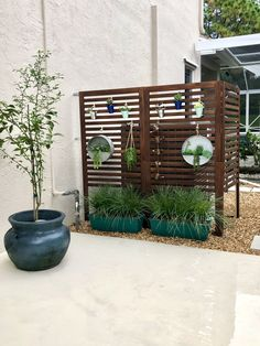 Hot Tub Privacy, Privacy Screen Outdoor, Privacy Walls, Privacy Wall On Deck, Privacy Planter, Patio Privacy Screen, Privacy Fences, Outdoor Walls, Outdoor Rooms