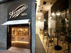 Pastelería Arrese Bakery & Coffe Shop by SUBE, Bilbao – Spain » Retail Design Blog