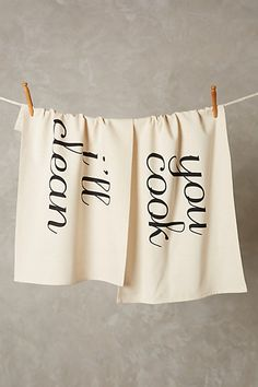 you cook, i'll clean dish towels #anthrofave #anthropologie