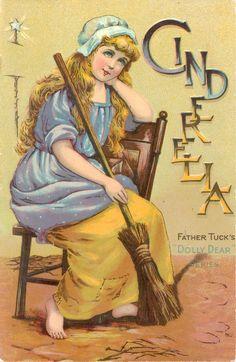 "'CINDERELLA', a Father Tuck's ""Dolly Dear"""