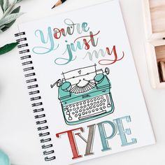 """1,106 Likes, 53 Comments - Sharon: Lettering~Calligraphy (@life_lettered) on Instagram: """"Another Valentine's pun because really....they make my heart happy. ❤️. Found this cute…"""""""