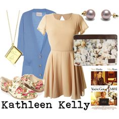 """Kathleen Kelly from You've Got Mail"" by survivingtwentytwelve on Polyvore"