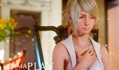 Luna (???, Runa) Final Fantasy 15'in ilk olarak Tokyo Game Show 2014 trailer'ında görünen karakteridir  Bahsi geçen trailer'da Luna'nın etrafında parıldayan tanecikler ruhların doğasını çağrıştırmaktadır http://www.durmaplay.com/News/final-fantasy-15-ana-karakterleri-luna