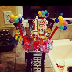 I made this for my brothers 16th birthday(: