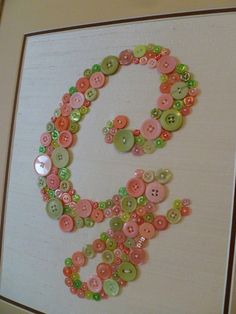 Personalized Baby Nursery Letter Art in di letterperfectdesigns