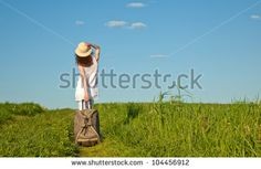 Luggage Woman Stock Photography | Shutterstock