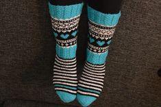 Wool Socks, Knitting Socks, Boot Cuffs, Diy Crochet, Leg Warmers, Mittens, Ravelry, Diy And Crafts, Sewing