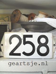 BROCANT ZINK en EMAILLE | 2 | * Geartsje-Webwinkel *