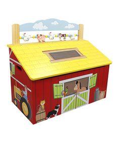 Look at this #zulilyfind! Fantasy Fields Happy Farm Toy Chest #zulilyfinds