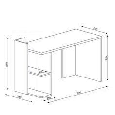 escritorio 11 planos | чертежи столярных работ | Pinterest ...