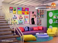 #decoracion LAS MEJORES CASAS DE MÉXICO. Si desea tener un ambiente fresco y colorido dentro de su hogar, puede optar por el tipo de decoración pop, el cual se basa en este arte que también le brindará alegría y un espacio ideal para descansar después del trabajo. Los cuadros en las paredes pueden ser imágenes o fotografías de la cultura pop, es decir lo popular y no solamente el género musical. En Grupo Sadasi, le invitamos a adquirir su casa nueva en uno de nuestros maravillosos…