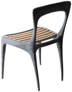 Cast aluminum chair