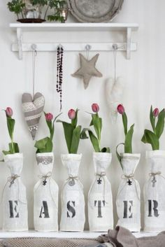 Love love love this idea. #winebottles #recycle #crafts
