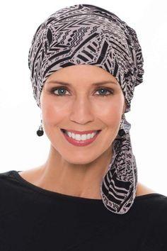 Christine Headwear Turbante Printed BambooHeadwear Gorro quimioterapia pa/ñuelo para Cabeza