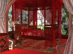 Episode Interactive Backgrounds, Episode Backgrounds, Anime Backgrounds Wallpapers, Fantasy Background, Landscape Background, Ancient Chinese Architecture, Anime Places, Fantasy Rooms, Japanese Interior