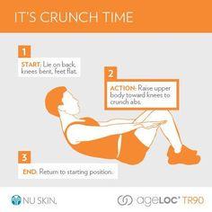 #crunchie #TR90 #NUSKIN