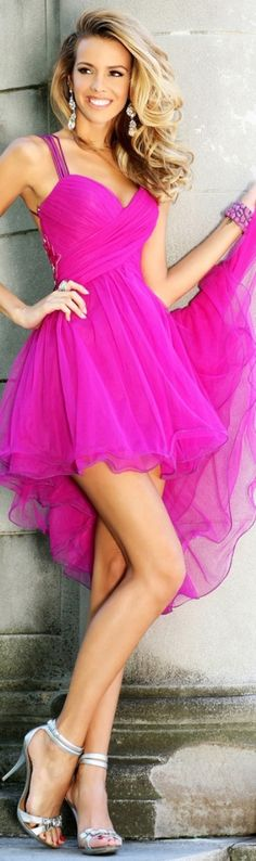 <3 purple dress.  women fashion outfit clothing style apparel @roressclothes closet ideas